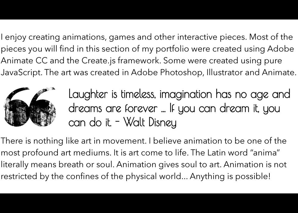 Animation Description