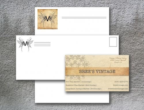 Bree's Vintage Logo Design