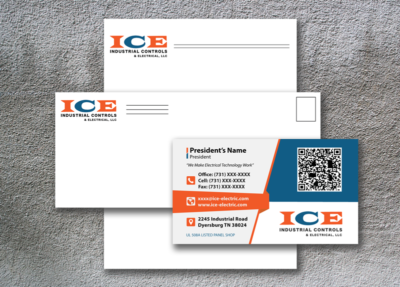 ICE Electric Logo Branding