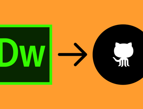 CONNECTING GITHUB WITH DREAMWEAVER